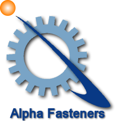 Alpha Fasteners Logo with Name
